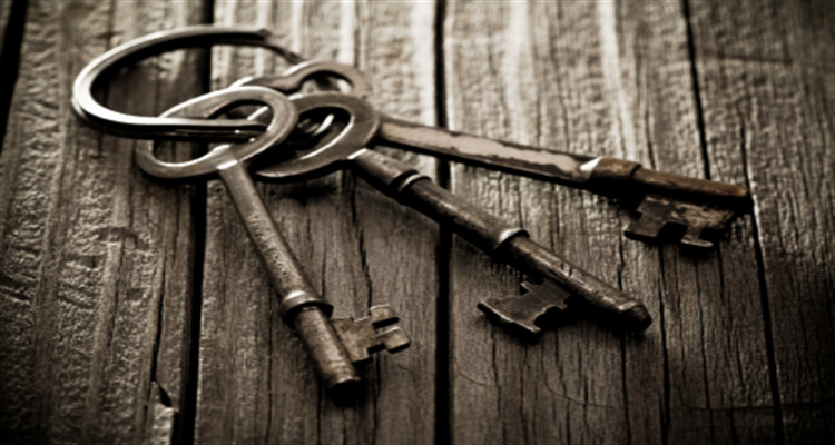 3 Old-fashioned Keys