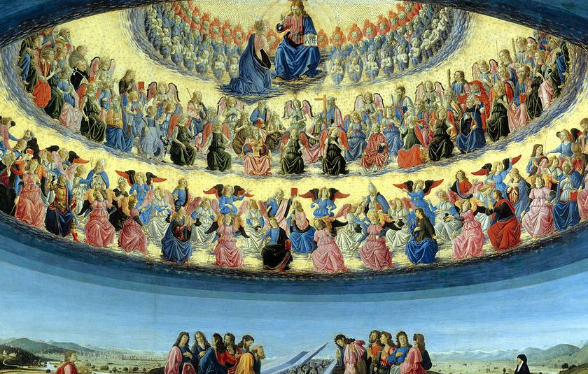 The Assumption of the Virgin by Francesco Botticini