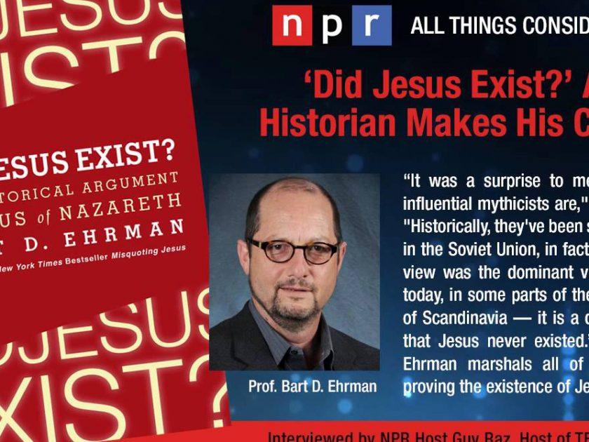 Bart Ehrman on Does God Exist