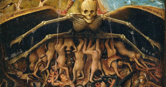 Van Eyck's vision of hell